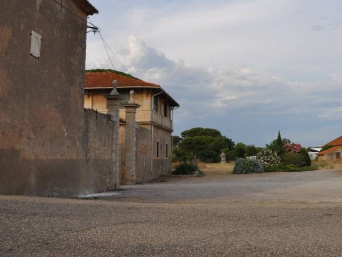 Location de vacances - Mas à Vendres - Arrivée