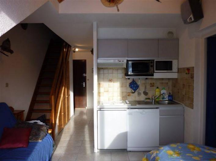 Location de vacances - Appartement à Saint-Sorlin-d'Arves - plaque induction, LV, micro O, mini four, réfrigérateur, congél