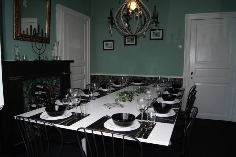 Location de vacances - Gîte à Grupont - salle à manger