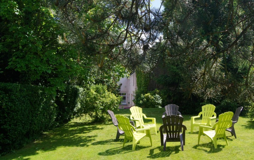 Location de vacances - Gîte à Grupont - jardin