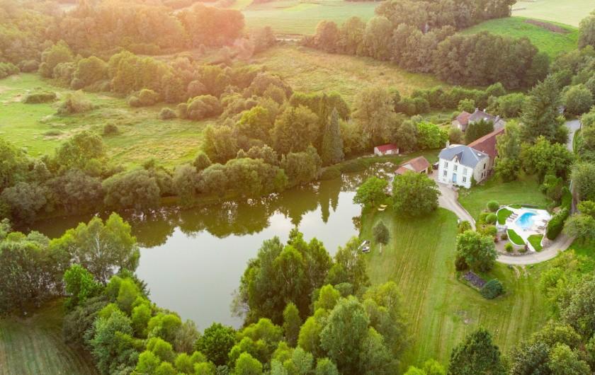Location de vacances - Villa à Saint-Moreil - Le domaine