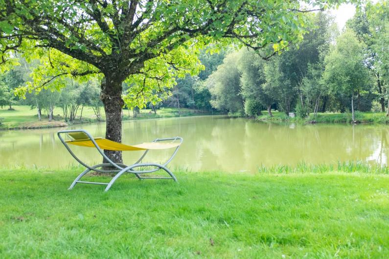 Location de vacances - Villa à Saint-Moreil - vue sur le lac