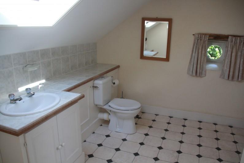 Location de vacances - Villa à Saint-Moreil - Vu sur le terrasse
