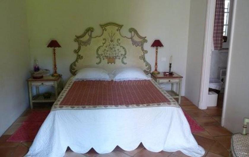 Location de vacances - Chambre d'hôtes à Saint-Tropez - Chambre Coline indépendante  deux lits
