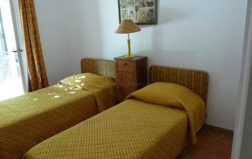 Location de vacances - Chambre d'hôtes à Saint-Tropez - Chambre 1 petite maison