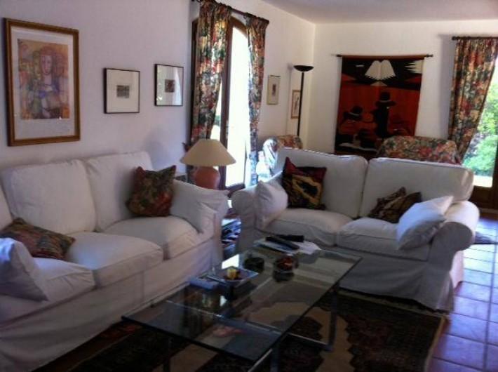 Location de vacances - Villa à Saint-Aygulf - Salon