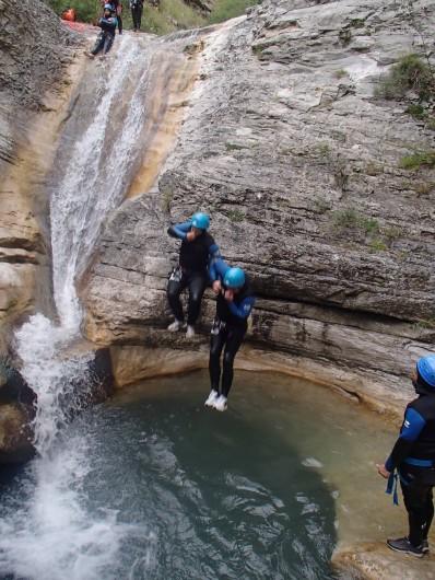 Location de vacances - Bungalow - Mobilhome à Serres - Canyoning