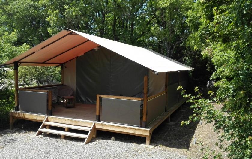 Location de vacances - Bungalow - Mobilhome à Serres - Tente Free Flower
