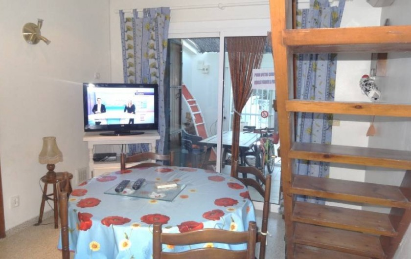Location de vacances - Villa à Empuriabrava - salle de vie