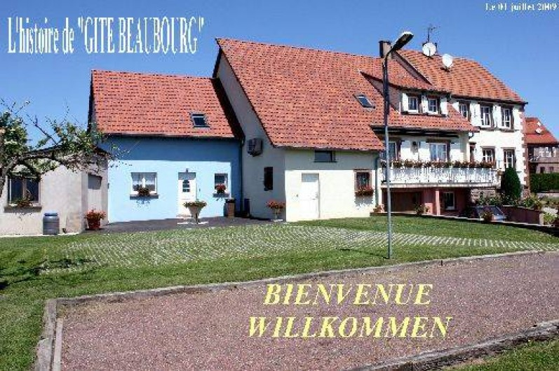 Location de vacances - Gîte à Schœnbourg