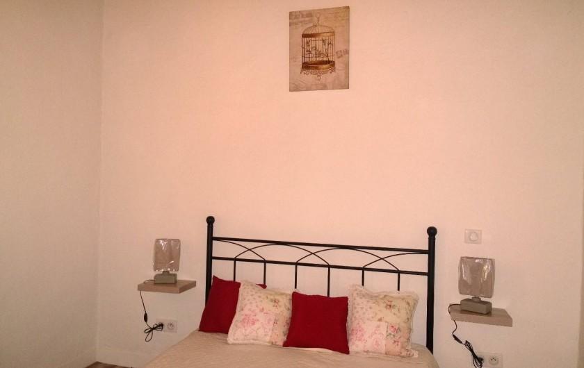 Location de vacances - Appartement à Saint-Martin-Vésubie - Chambre 2 lit double 1° étage