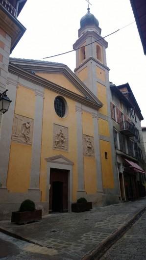 Location de vacances - Appartement à Saint-Martin-Vésubie - Chapelle des pénitents blancs centre village