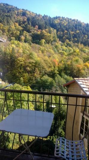 Location de vacances - Appartement à Saint-Martin-Vésubie - balcon RdC