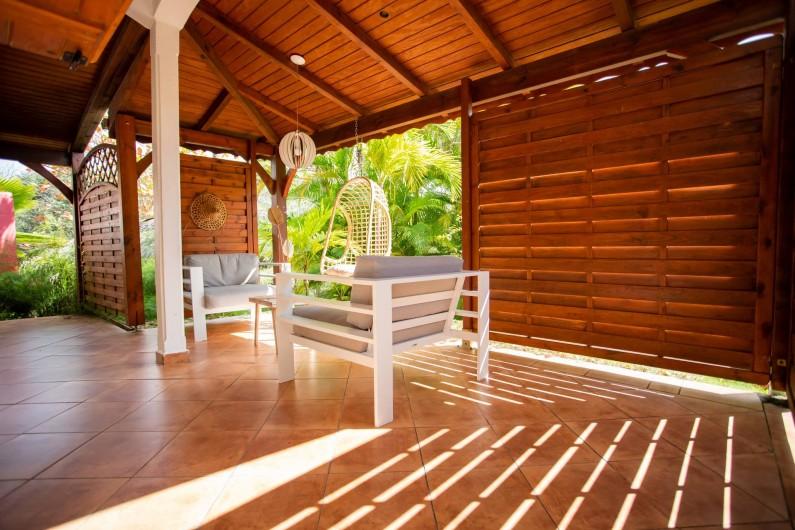 Location de vacances - Villa à Sainte-Anne - AUTRE ANGLE TERRASSE FOUFOU