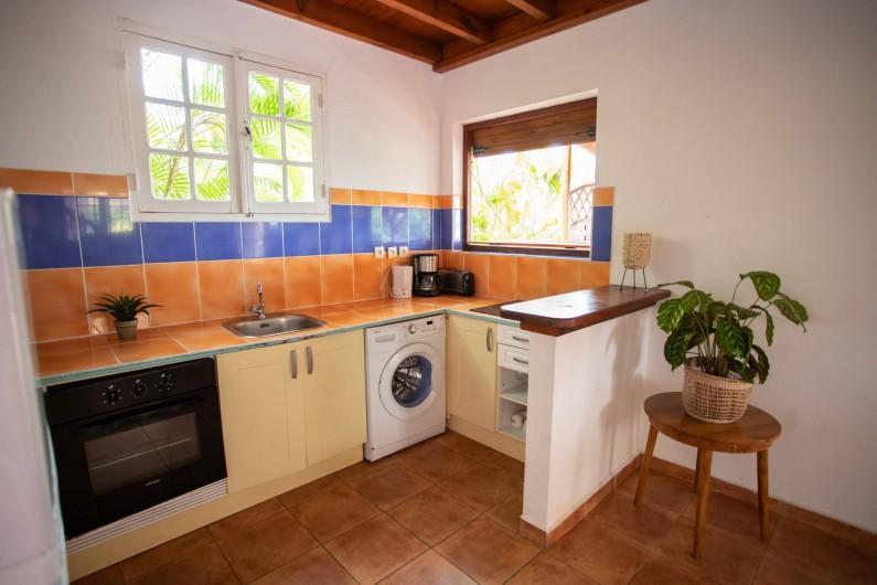 Location de vacances - Villa à Sainte-Anne - CUISINE PIPIRIT