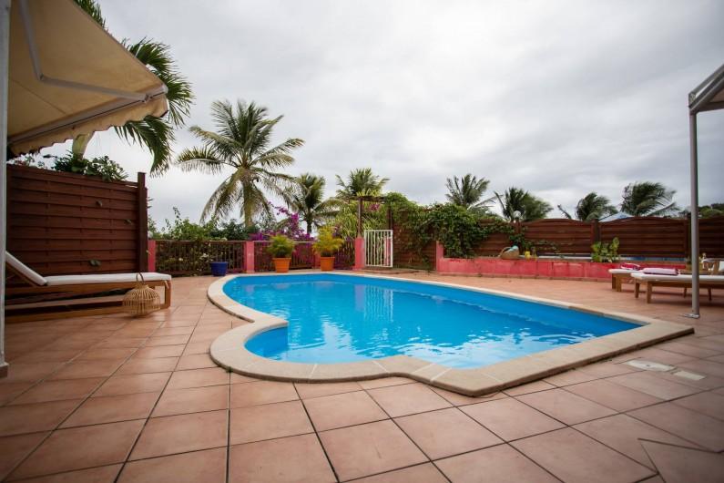 Location de vacances - Villa à Sainte-Anne - PISCINE