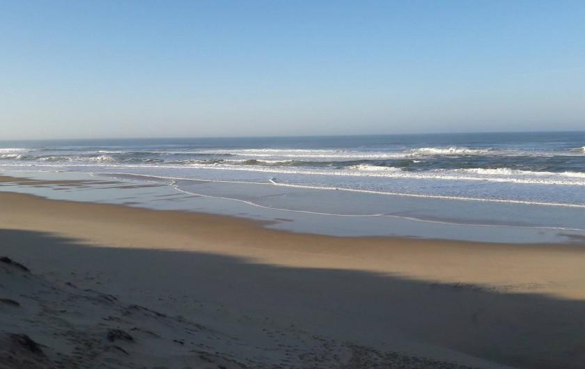 Location de vacances - Villa à Lacanau Océan - Plage nord à 300 m de la villa