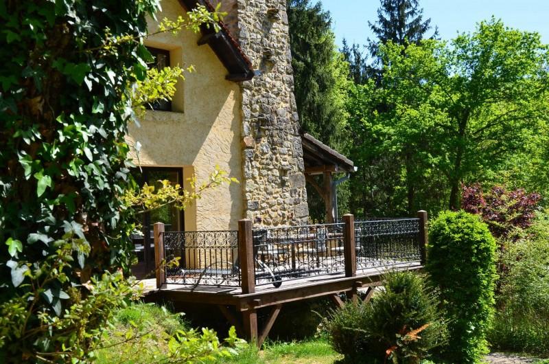 Location de vacances - Maison - Villa à Payrac - Terrasse côté Ouest