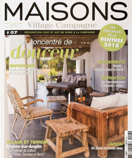 Location de vacances - Mas à Foissac - Magazine dans le quel le moulin était présenté