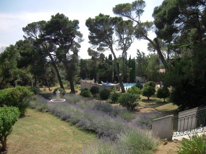 Location de vacances - Gîte à Badens - Gîte Syrah