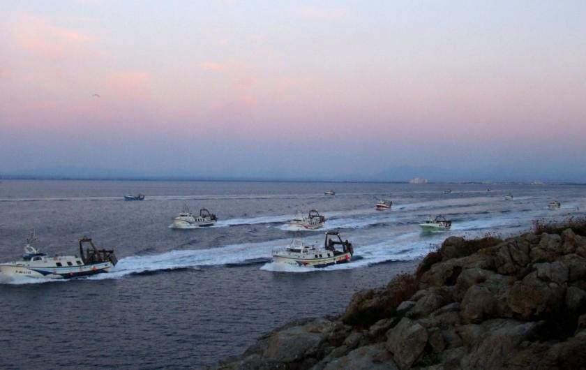 Location de vacances - Appartement à Empuriabrava - ROSES : Port de pêche de 21 chalutiers, sorties tous les jours...