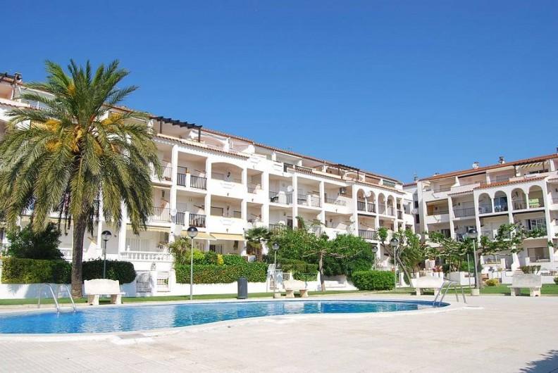 Location de vacances - Appartement à Empuriabrava - Résidence calme, clôturée, près commerces et proche centre EMPURIA BRAVA.