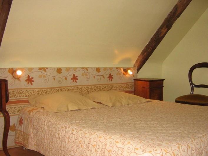 Location de vacances - Chambre d'hôtes à Plouguiel - Fous de Bassan: 2 pièces communicantes, salle d'eau et wc 1 lit double