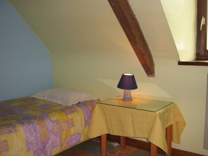 Location de vacances - Chambre d'hôtes à Plouguiel - Chambre enfants Fous de Bassan: 2 lits simples