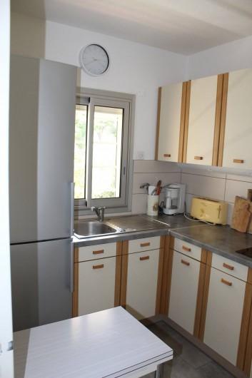 Location de vacances - Appartement à Banyuls-sur-Mer - Cuisine Réfrigérateur et congélateur
