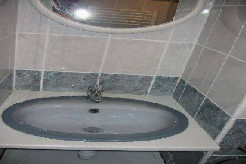 Location de vacances - Appartement à Gérardmer - lavabo salle de bain