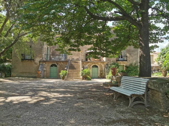 Location de vacances - Chambre d'hôtes à Jonquières - Maison de maitre du XVIIIème