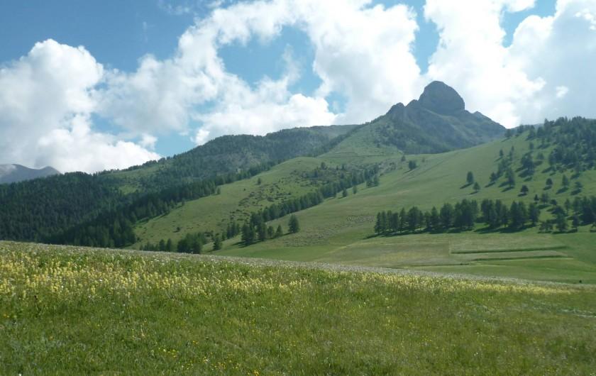 Location de vacances - Appartement à Ancelle - Col de Moissière