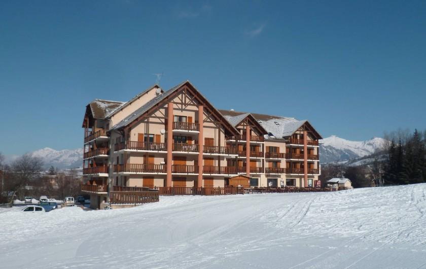 Location de vacances - Appartement à Ancelle - Résidence l'hiver