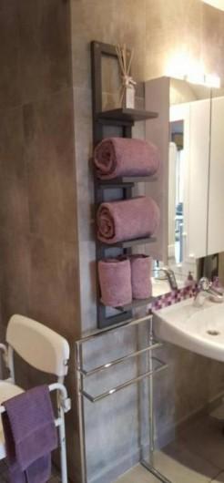 Location de vacances - Gîte à Sept-Frères - SB, linge de toilette fourni