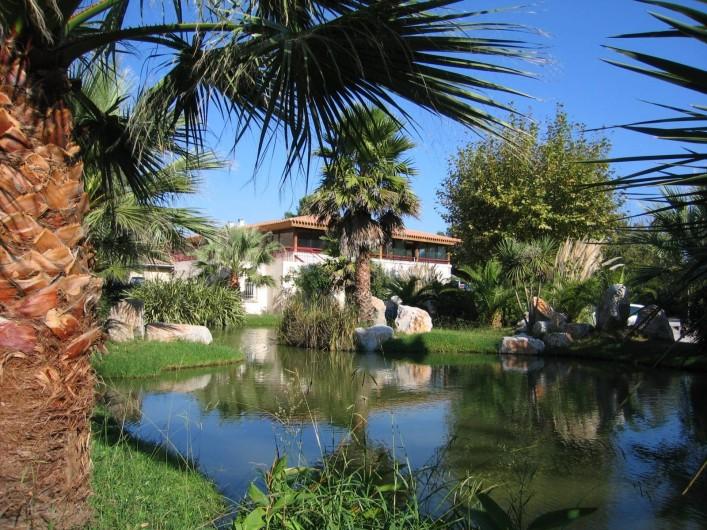 Location de vacances - Camping à Argelès-sur-Mer - Etang
