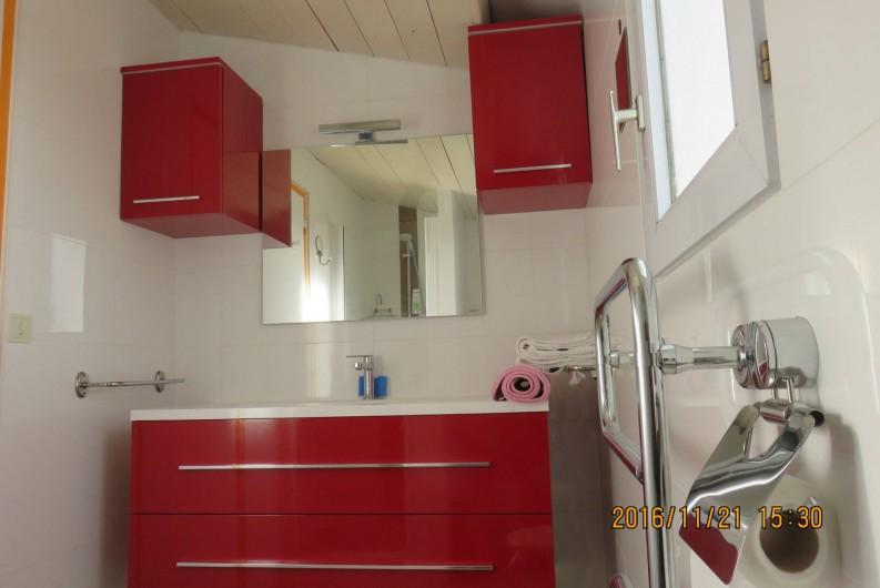 Location de vacances - Villa à Rivedoux-Plage - Une cuisine totalement équipée.