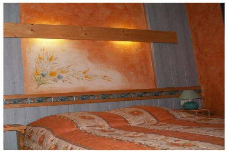 Location de vacances - Chalet à Xonrupt-Longemer - Chambre avec lit de 140/190
