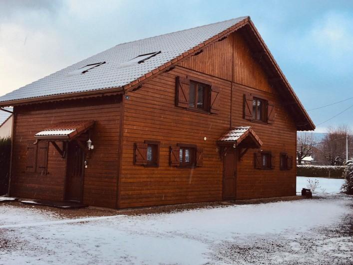 Location de vacances - Chalet à Anould - Balade dans la neige