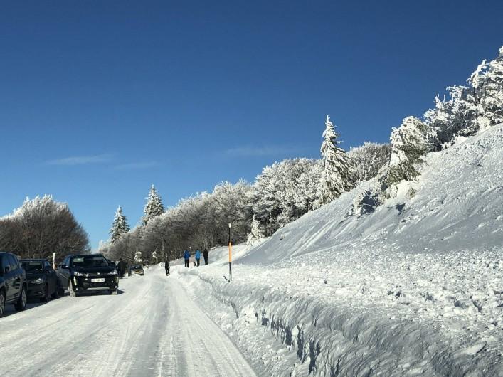 Location de vacances - Chalet à Anould - La route des crêtes