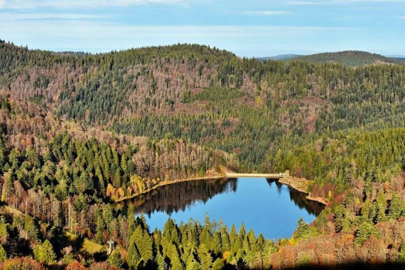 Location de vacances - Chalet à Anould - Lac de Blanchemer