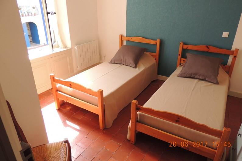 Location de vacances - Maison - Villa à La Palme - Chambre bleue