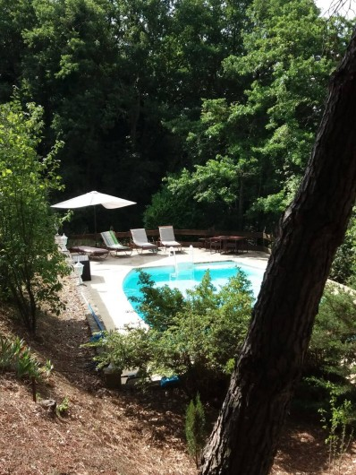 Location de vacances - Gîte à Villarzel-du-Razès - VILLA - piscine