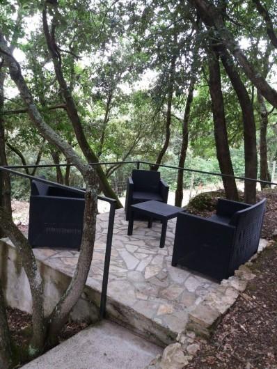 Location de vacances - Gîte à Villarzel-du-Razès - VILLA - jardin arboré