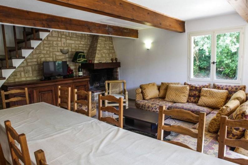 Location de vacances - Gîte à Villarzel-du-Razès - VILLA - Salon