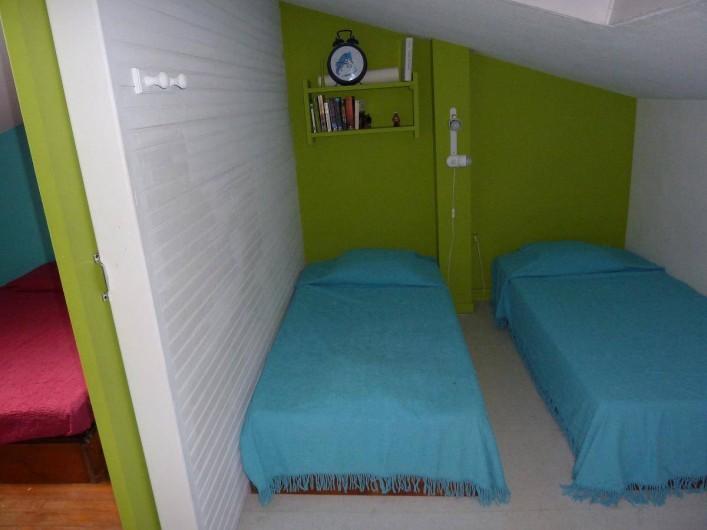 Location de vacances - Maison - Villa à Le Barcarès - chambre mezzanine