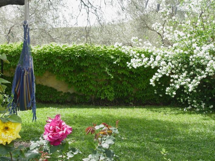 Location de vacances - Maison - Villa à Órgiva - Hamaca en el jardin