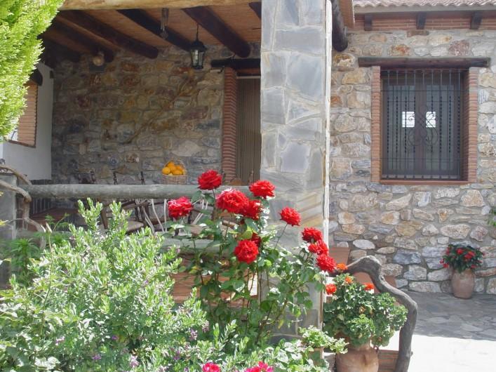 Location de vacances - Maison - Villa à Órgiva - Porche