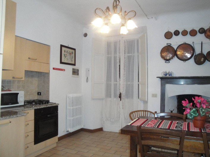 Location de vacances - Appartement à Lucques - Cuisine DAMA apartment
