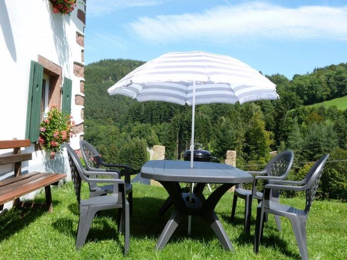 Location de vacances - Gîte à Orbey - Jardin
