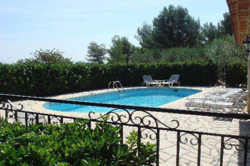 Location de vacances - Villa à Cuers